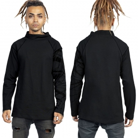 """T-shirt épais \""""Babylon\"""", Noir et or"""