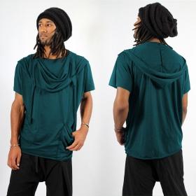 """T-shirt I-Ewer \\\""""Kusumo\\\"""", Gris bleuté"""