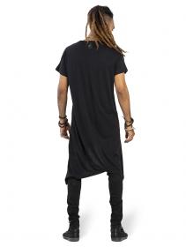 """T-shirt manches courtes \""""Promotheus\"""", Noir"""