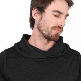 """T-shirt manches longues \""""Moëkko\"""", Noir"""