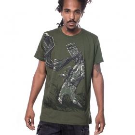 "T-shirt PlazmaLab \\\""Connecting the dots\\\"", Vert"