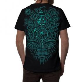 "T-shirt PlazmaLab \""Nightvision\"", Noir"