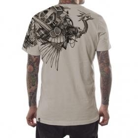 "T-shirt PlazmaLab \""Ostrich\"", Beige"