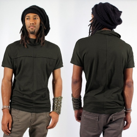 "T-shirt Psylo \""Baggy\"", Kaki"