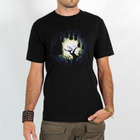 """T-shirt Rocky \""""Bats\"""", Noir"""