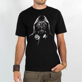 """T-shirt Rocky \""""Dj dark vador\"""" Noir"""