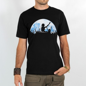 "T-shirt Rocky ""Full moon\"", Noir"