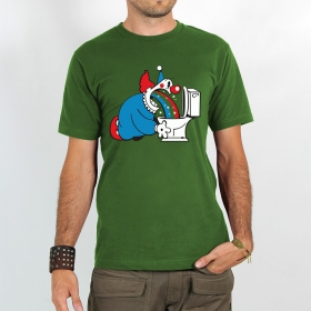 "T-shirt Rocky ""Magic clown\"", Vert"