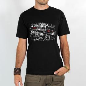 """T-shirt Rocky \""""Platines\"""", Noir"""