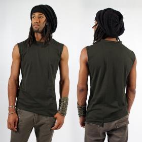 "T-shirt sans manches \""Blended\"", Kaki"