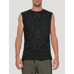 """T-shirt sans manches \""""Warrior\"""", Noir"""