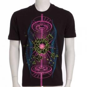 """T-shirt UV \""""Hologram\"""", Noir"""