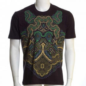 "T-shirt UV ""Incarnation\"", Noir"