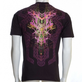 "T-shirt UV \""Superforce\"", Noir"