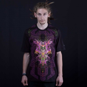 "T-shirt UV ""Superforce\"", Noir"