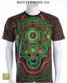 "T-shirt UV Public Beta \""Mastermind\"", Noir"