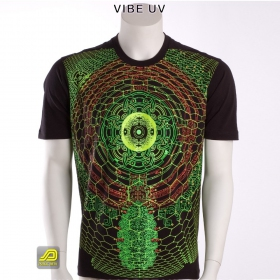 "T-shirt UV Public Beta ""Vibe UV\"", Noir"