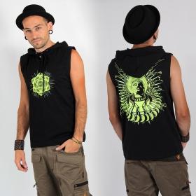 "Tee Shirt Shaman \""DMT Buddha\"", Noir"
