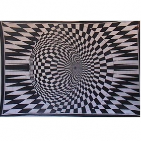 """Tenture \\\""""vision\\\"""" 1,40 x 2,20 m"""