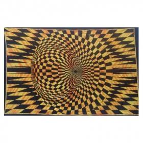 """Tenture \\\""""vision 1\\\"""" 1,40 x 2,20 m"""