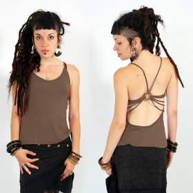 "Top ""Athit\"", Taupe"