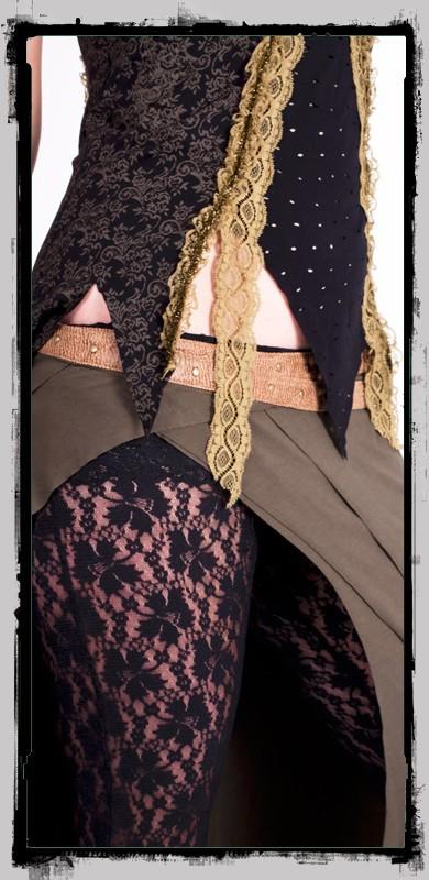 """Top fairy floss \\\""""avalon\\\"""", noir"""