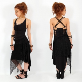 "Top Liloo ""Back Cut\"", Noir"