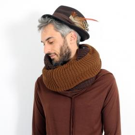 Tour de cou tricoté