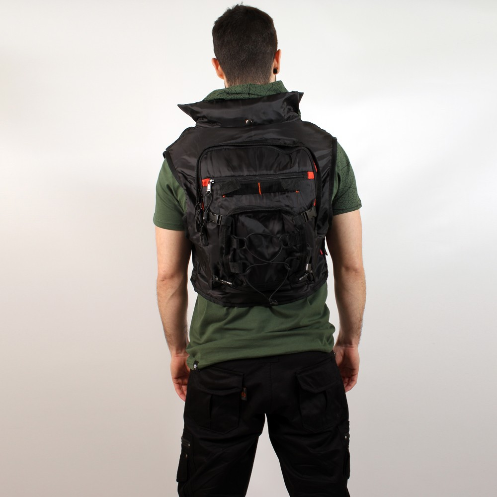 VEST01 Sac Transporter FULL BACK