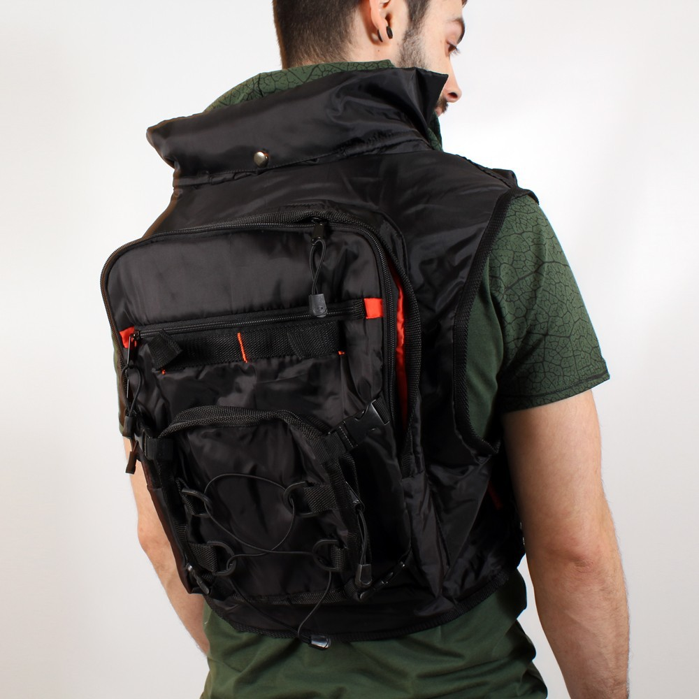 VEST01 Sac Transporter ZOOM BACK4