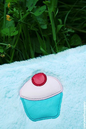 Trousse moumoute cupcake
