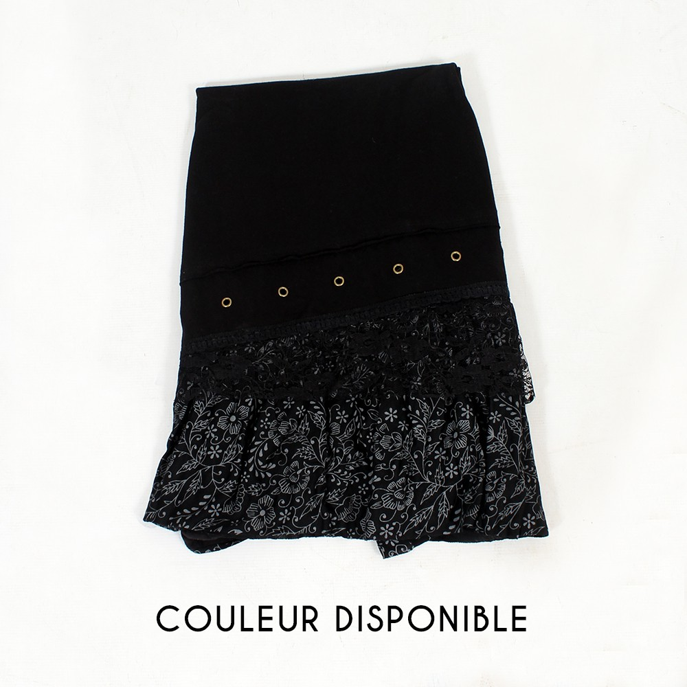 "Tunique ""Lolaksi"", Noir"
