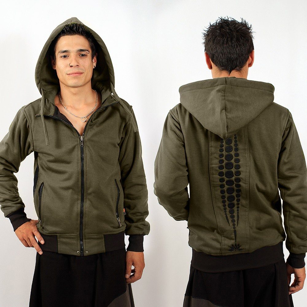 "Veste Indian Project \""Evolution Omega\\\"", Kaki"