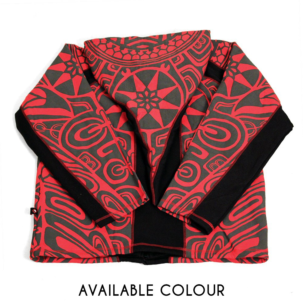 "Veste lutin ""Skywalker Haida\"", Rouge"