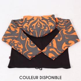"""Veste lutin Gado Gado \""""Anapa\"""", Noir orange"""