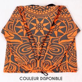 """Veste lutin GadoGado """"Eimeo"""", Orange Noir"""