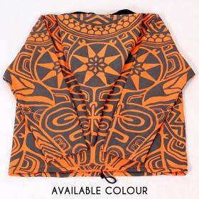 """Veste lutin GadoGado \""""Eimeo\"""", Orange Noir"""