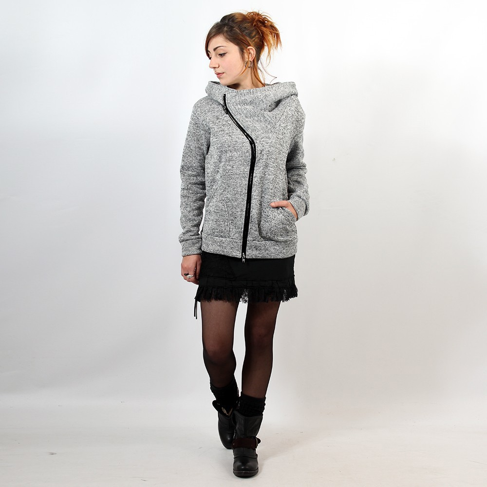 Veste Witch \\\'\\\'Senna\\\'\\\', Gris clair