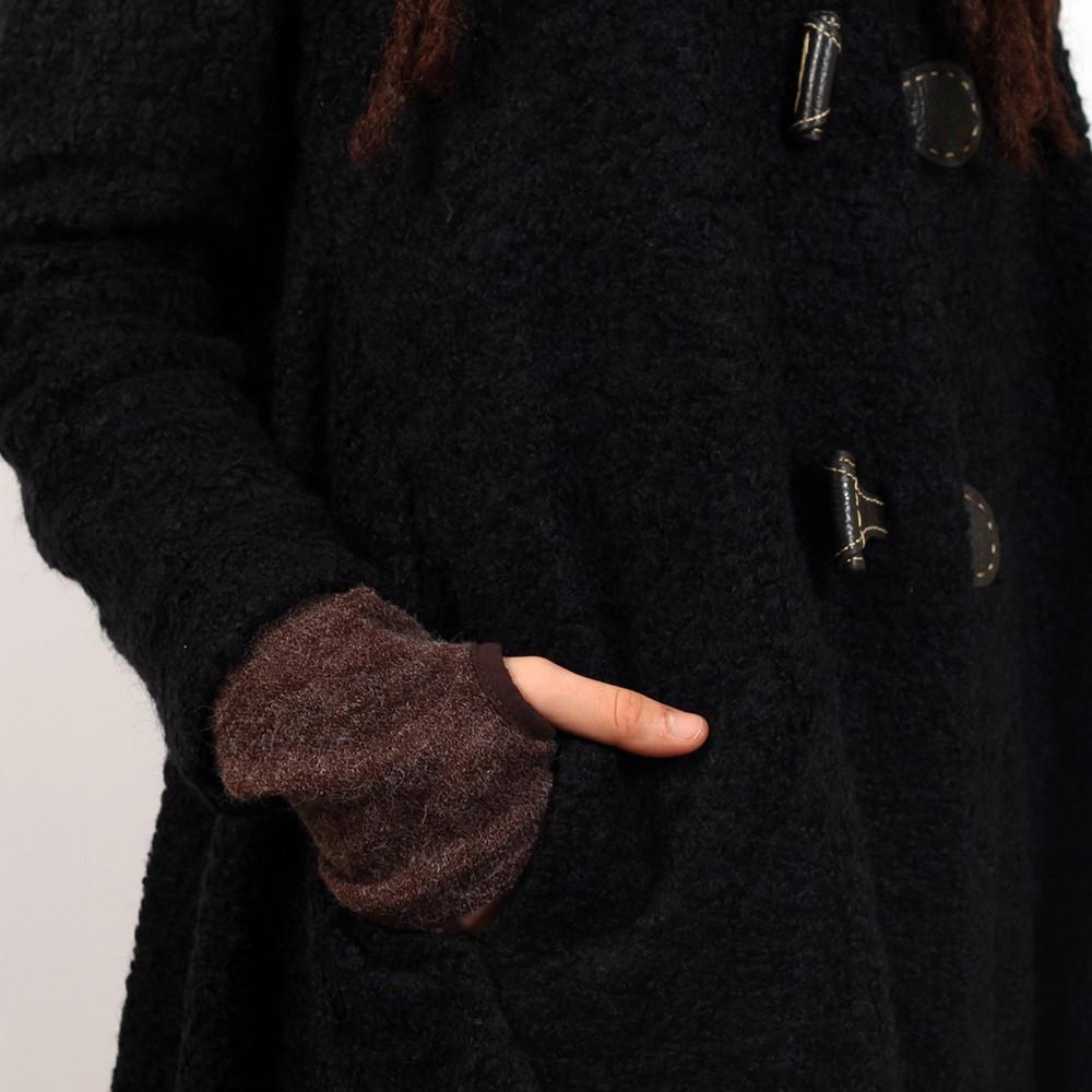 """Veste witch \\\""""sadhana\\\"""", taille unique couleur noir"""