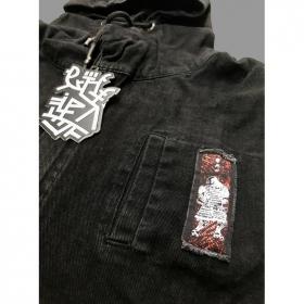 "Veste zippé sans manches \""Shinanga\"", Noir"