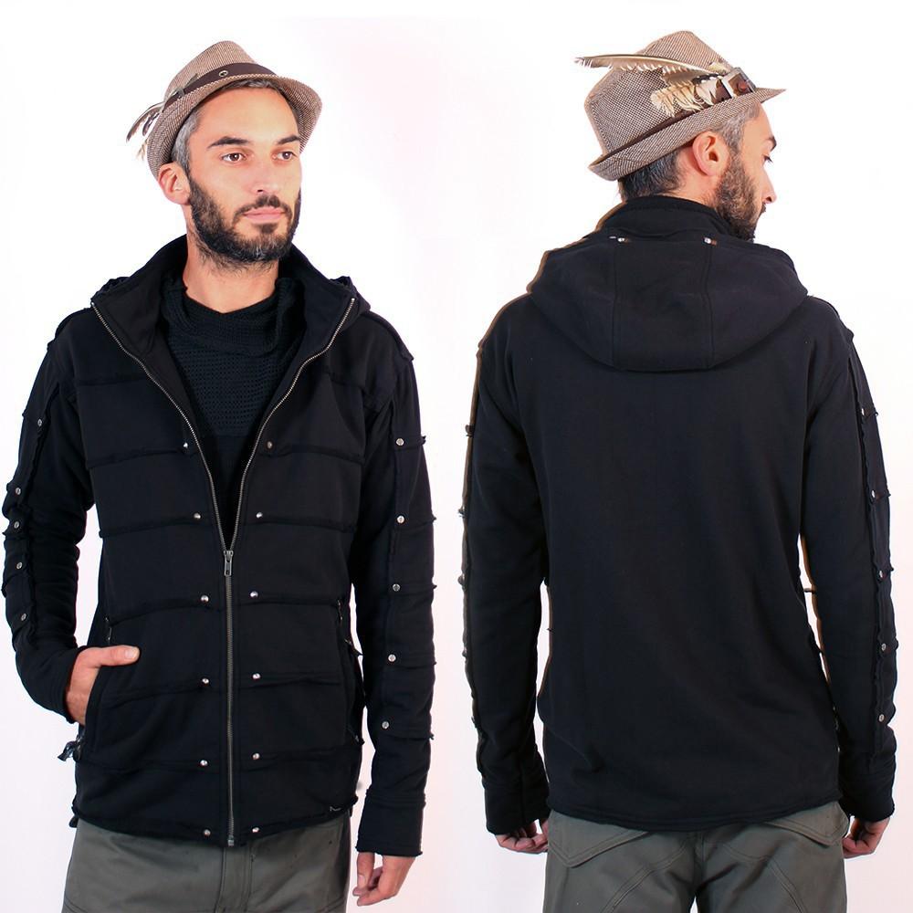 """Veste zippée Psylo \\\""""Moli\\\"""", Noir"""