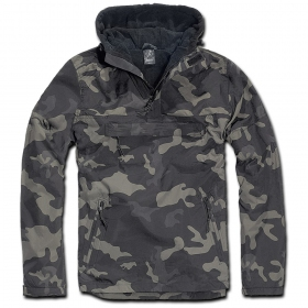 Windbreaker, dark camouflage